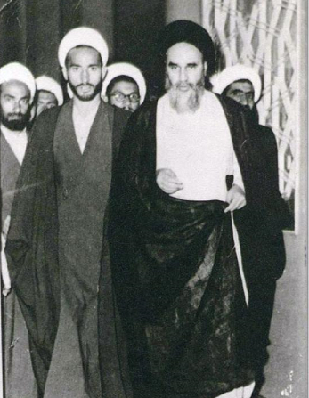 Photo inédite de l'Imam Khomeiny