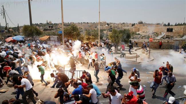 Violences à Al-Aqsa