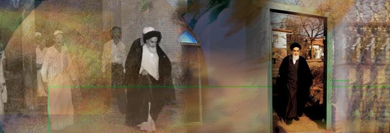 L`émigration de l`Imam Khomeiny à Paris
