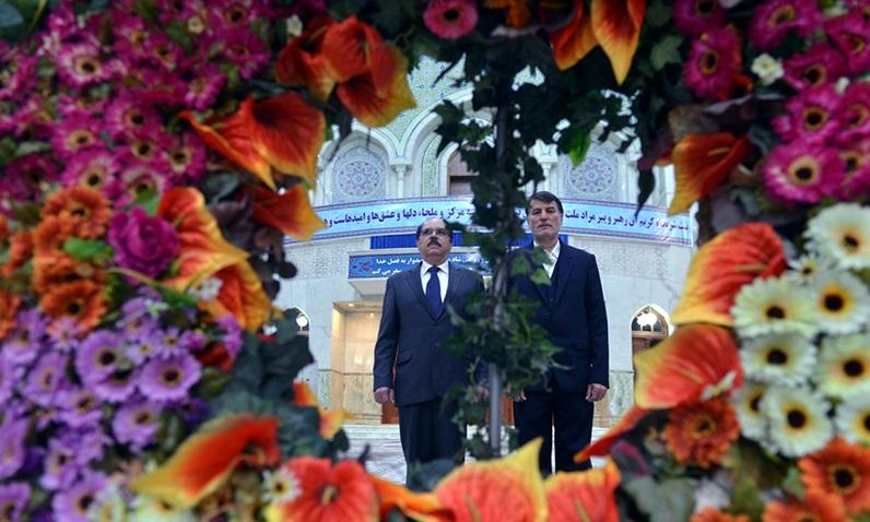 L`hommage rendu par l`Ambassadeur de Nicaragua à l`Imam Khomeini