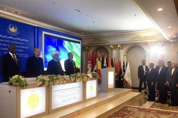 Début de la 13e Conférence de l'Union parlementaire de l'OCI à Téhéran en présence de Rohani
