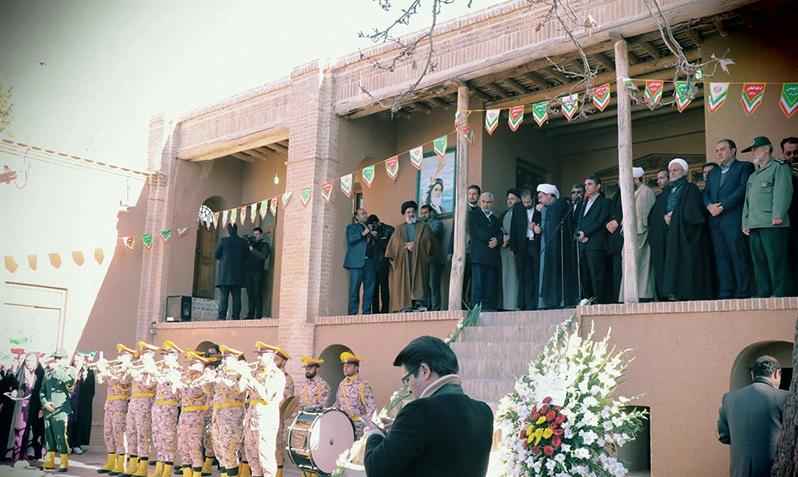 La maison et la ville natale de l`Imam Khomeini pendant la décade de  Fajr de la révolution islamique