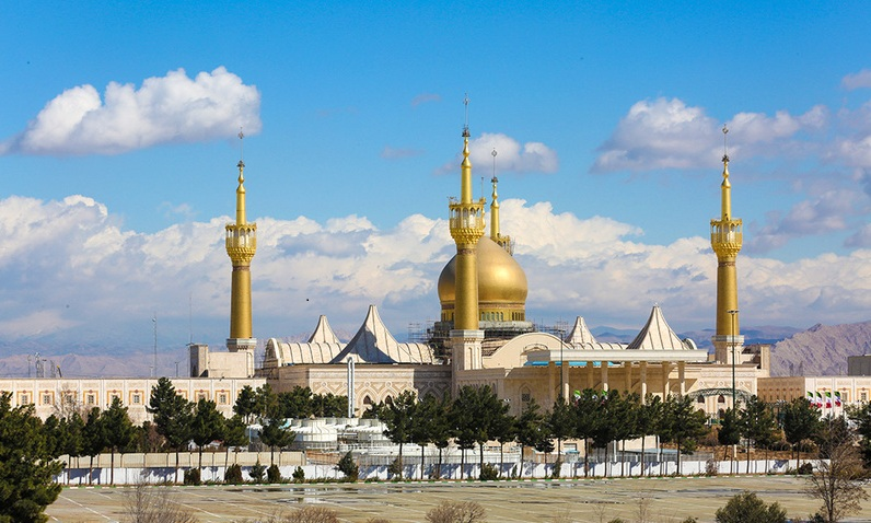 Des images belles et différentes du mausolée de l`Imam Khomeini