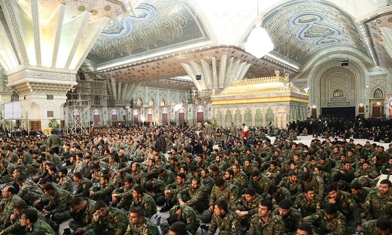 L`anniversaire de Yomollah (le jour de Dieu) du 1e février, au saint mausolée  de l`Imam Khomeini