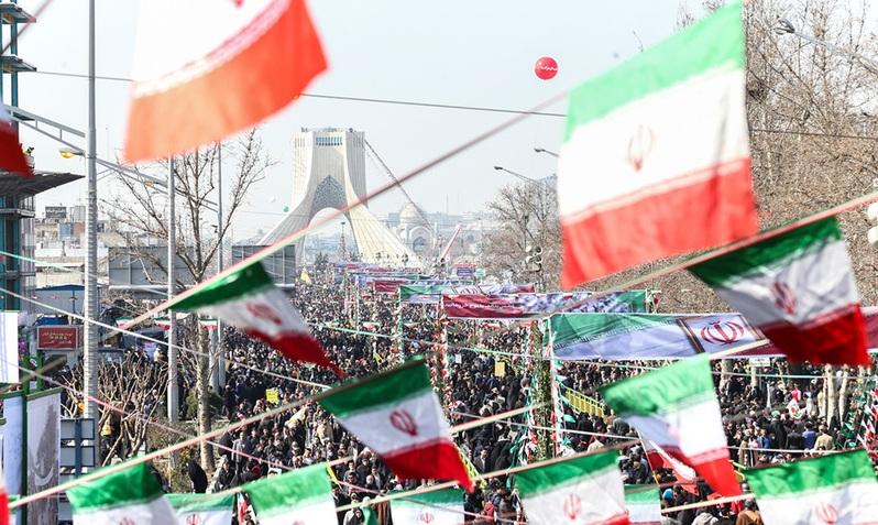 La marche grandiose du 11 février (22 Bahman)