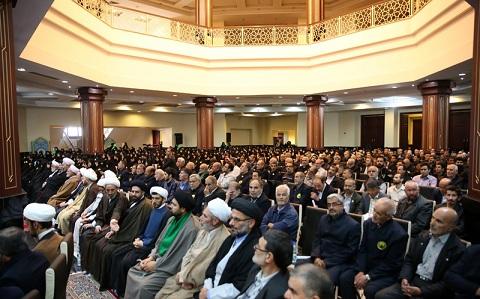 Le congrès des honorables serviteurs du saint mausolée de l'Imam Khomeiny en présence de Sayyid Hassan Khomeiny