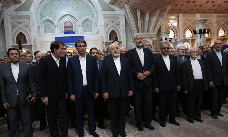 Le renouvellement du pacte avec les idéaux de l'imam Khomeiny (paix à son âme)
