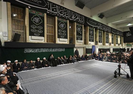 Cérémonie de deuil au Hosseynieh Imam Khomeiny (ra)