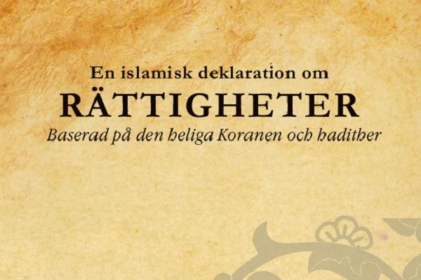 Le «Traité sur les droits» de l'Imam Sajjad (AS) disponible en suédois