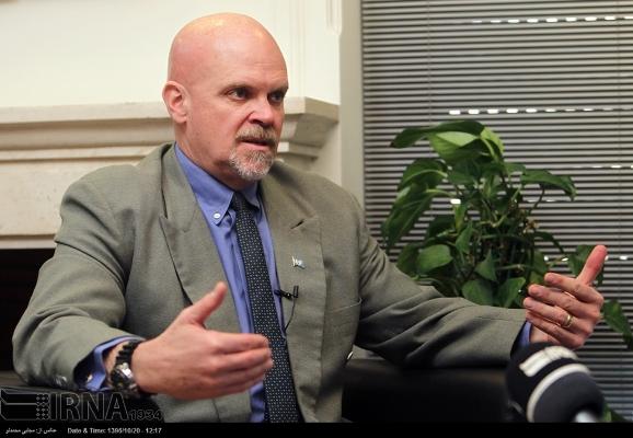 Gary Lewis salue le rôle des Iraniens dans l`avenir de l`humanité
