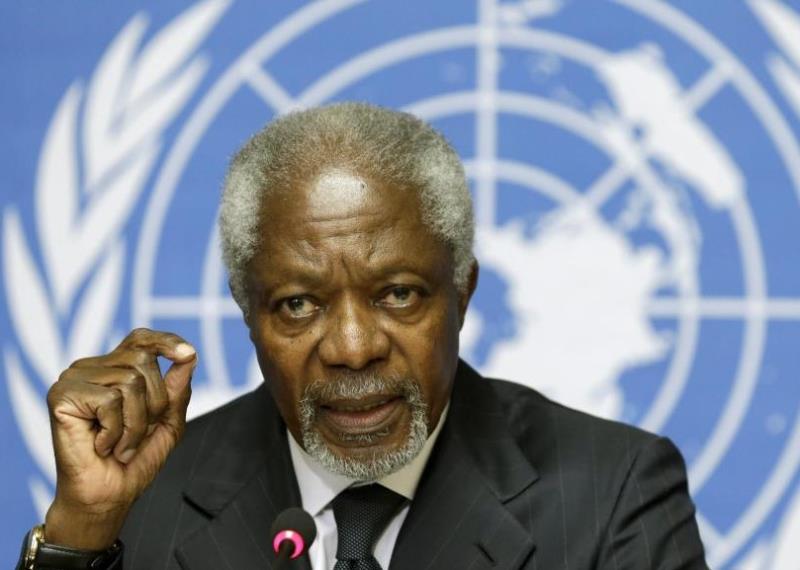 Kofi Annan : « La paix est un rêve suspendu »