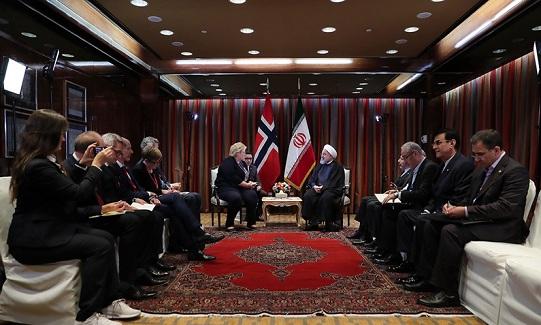 Les entretiens du président Rohani à New York