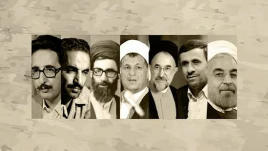Les présidents de la république d'Iran après la révolution islamique