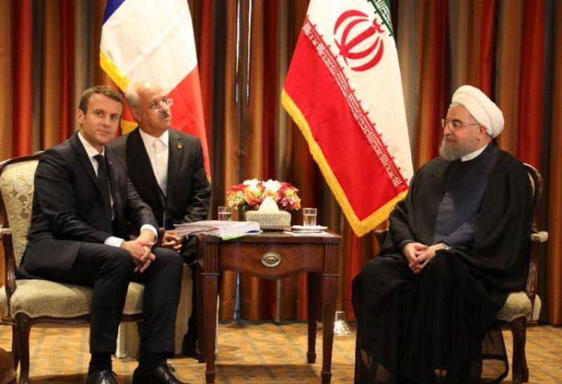 Emmanuel Macron rencontrera le président Rohani en marge de l`AG de l`ONU