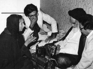 Entretien d'Oraniana Falhachi avec Imam Khomeiny (paix à son âme)