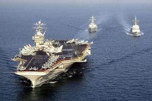 La confrontation directe de la force navale iranienne avec la force navale des États-Unis
