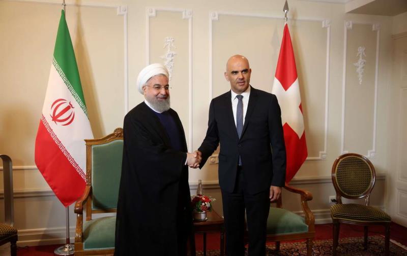 Relation entre l`Iran et les pays européennes; La Suisse appelle ses entreprises à rester en Iran
