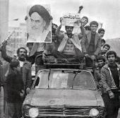 La joie du peuple iranien de la fuite du Shah