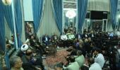 Rencontre des membres de la siège de la commémoration de l`Imam Khomeini avec Seyed Hassan Khomeini