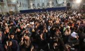 La cérémonie de l`Ihya du mois de Ramadan dans le saint mausoleé de l`Imam Khomeini