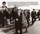 A l`occasion de la fuite du Shah