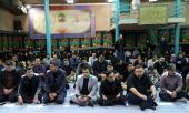 Les photos de la commémoration du martyre , l'Imam Hussein (as) dans le Hussainiya de Jamaran