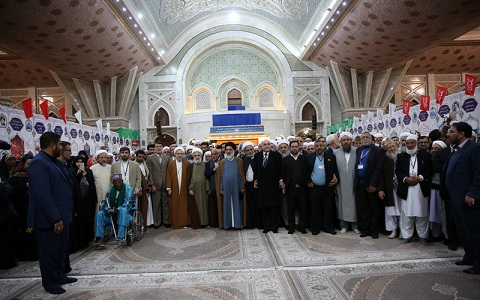 des invités à la 32ième conférence internationale sur l'union islamique
