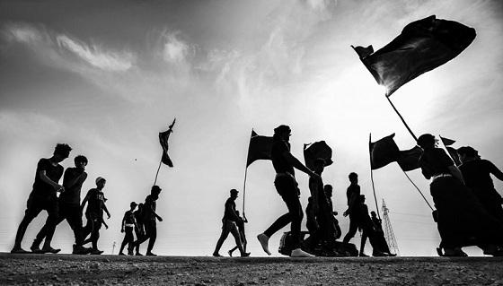 La marche des pèlerins d'Arbaeen  vers Karbala
