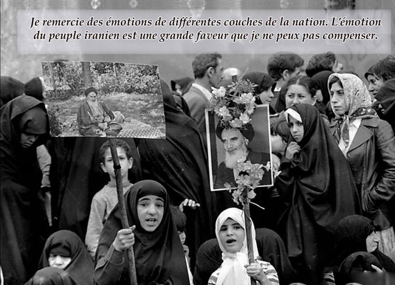 À l'occasion du retour  de l'Imam Khomeini en Iran