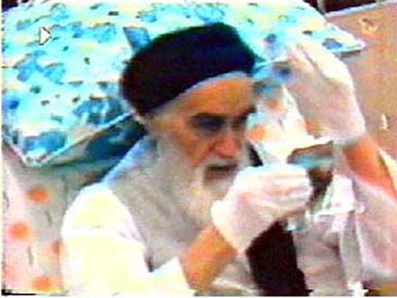 L'histoire du miroir de l'Imam Khomeiny