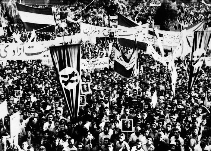 Les rares photos de coup d`Etat en Iran
