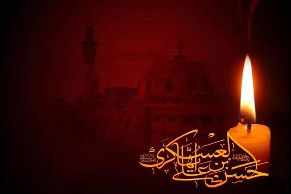 Les Chiites s`habillent en deuil après le martyre de l`imam Hasan al-Askari (P)