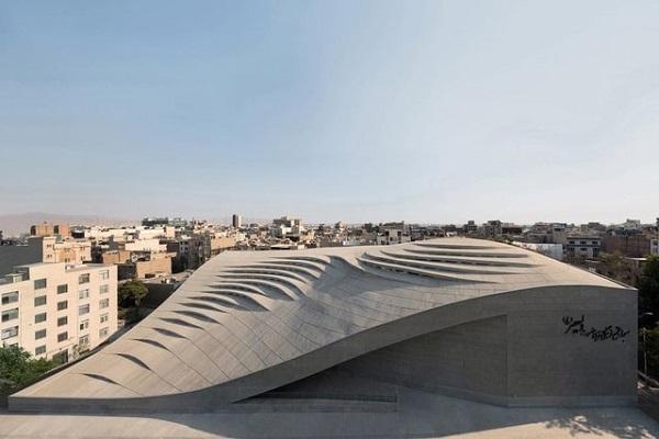 La mosquée de Vali-e-Asr, candidat du Festival mondial de l'Architecture