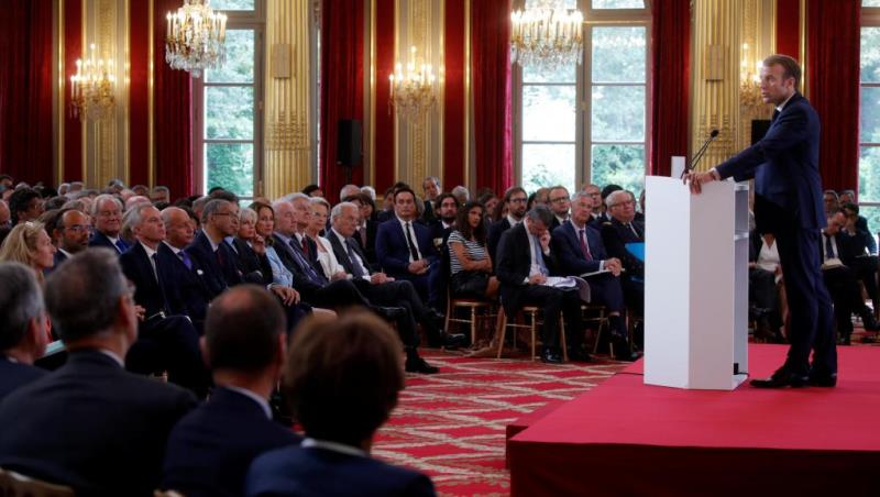Le président français déclare ses efforts pour sauver l'accord nucléaire iranien.