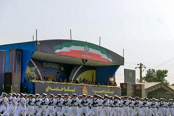 Parade des forces armées