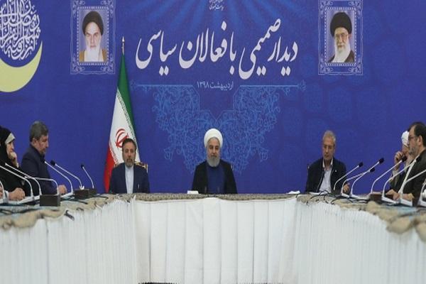Rohani qualifie de «guerre sans précédent», les pressions des ennemis