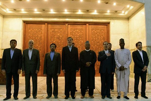 Hommage rendu à l'Imam Khomeini par le secrétaire général de l'OPEP