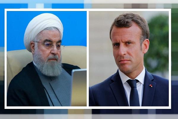 Araghtchi (Le vice-ministre iranien des Affaires étrangères) à Paris avec le message de Rohani pour Macron