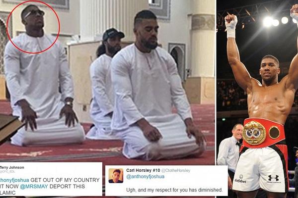 Anthony Joshua, champion du monde de boxe : « L'Islam joue un grand rôle dans ma vie »
