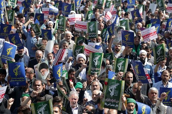 Iran: rassemblement de soutien au Corps des gardiens de la révolution