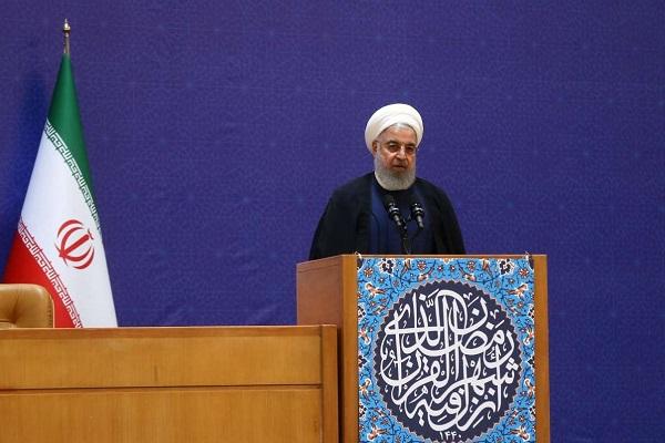 La nation iranienne ne s`incline pas devant les tyrans (Rohani)