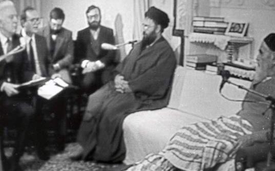 Quelle était la réaction de Gorbatchev par rapport à la lettre de l'Imam Khomeiny ?