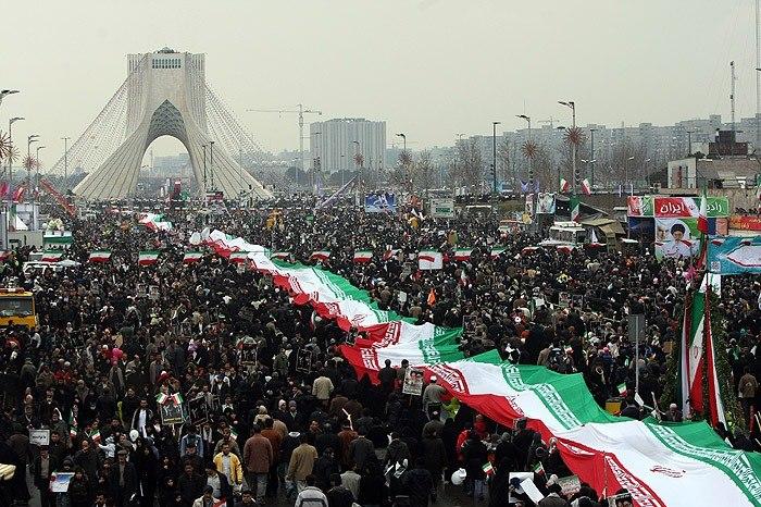 11 février : des marches gigantesques partout en Iran