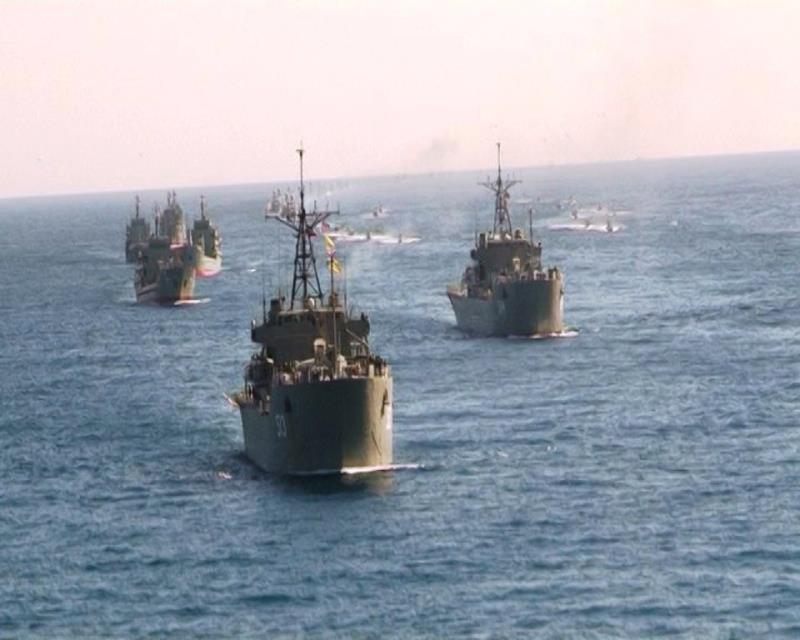 L`Iran lance une grande opération navale dans le golfe Persique