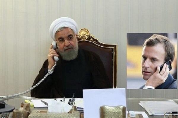 Entretien téléphonique Rohani-Macron