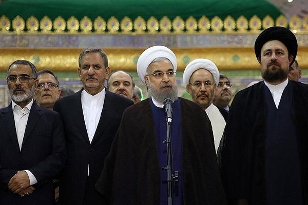 Rohani et son cabinet renouvellent leur allégeance aux idéaux de l`Imam Khomeiny