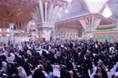 Cérémonie de la lecture de l'invocation Arafeh dans le mausolée sacré de l'imam Khomeini