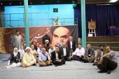 La visite d`un groupe des professeurs de l`université de Liban de la maison de l`Imam Khomeini
