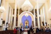 Cérémonie de la commémoration de l`Imam Khomeini à la cathédrale Saint-Sarkis