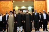 Hommage rendu à l'Imam Khomeini par le premier ministre de Pakistan